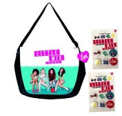 Little Mix Messenger Bag + 2 packs Of Little Mix Badges