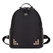 Jewellery Rarity Han Edition Backpack New Fashionable Rivets Men and Women are Available