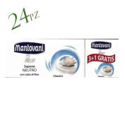 Mantovani Soap 24 x 100gr Neutral Rice with Milk