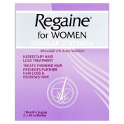 Regaine for Women Regular Strength Hair Regrowth Solution, 60 ml