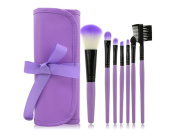 Professional 7Pcs Makeup Brushes Set, Soft Synthetic Foundation Eyeshadow Blusher Beauty Cosmetic Tools