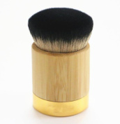 Yoyorule Bamboo Powder Foundation Brush Goat Hair Powder Makeup Brushes