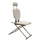 Mobile Shampoo Facial Chair in White