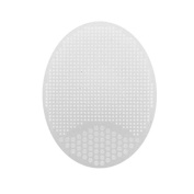 Sembem Beige White Silicon Facial Cleansing Brush Face Care Tools Exfoliator