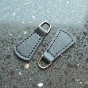 25 PCS #5 Zipper Fixer Repair Pull Tab PU leather Instant Kit Pants Replacement Slider