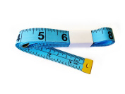 All-Purpose Tailor Sewing Dieting 150cm Tape Measure - Pack of 10