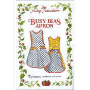 "THE PAISLEY PINCUSHION ""Busy BIAS APRON"" Sewing Pattern"