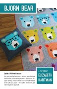 Bjorn Bear Quilt Pattern by Elizabeth Hartman