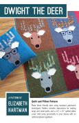 Dwight the Deer Quilt Pattern by Elizabeth Hartman