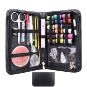 Compact Sewing Kit 38 Pcs/ Set, Sewing Supplies Set for Home, Travel, Beginners, Emergency