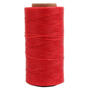 AMPSEVEN 219 Yards 1mm Leather Sewing Flat Waxed Thread for DIY Leather Craft Chisel AWL Upholstery Shoes Luggage 27 Colours Optional