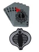 Dead Man's Hand Aces and 8's Cobra Patch Bundle 2pcs Hook Patch by Miltacusa