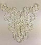 Trimplace White Venice Front Yoke 15cm High x 15cm Wide- 3 Pieces