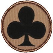 Clubs Patrol Patch - 5.1cm Round!