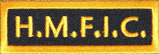 H.M.F.I.C. PATCH - Colour - Veteran Owned Business.