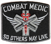 COMBAT MEDIC SO OTHERS MAY LIVE PATCH - Colour - Veteran Owned Business.