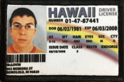 McLovin ID Badge Morale Patch. Perfect for your Tactical Military Army Gear, Backpack, Operator Baseball Cap, Plate Carrier or Vest. 5.1cm x 7.6cm Hook and Loop Patch. Made in the USA