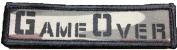 Aliens Movie Game Over Morale Patch. Perfect for your Tactical Military Army Gear, Backpack, Operator Baseball Cap, Plate Carrier or Vest. 5.1cm x 7.6cm Hook Patch. Made in the USA