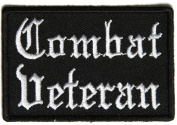 COMBAT VETERAN PATCH - Colour - Veteran Owned Business.