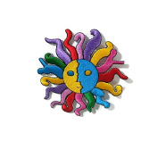 Multi Colour SUN DIY Embroidered Sew Iron on Patch