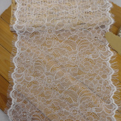 3 Yards Hot Eyelash Lace Trims for Clothing Sewing Decoration 28cm - 30cm Wide