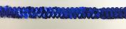Trimplace 1.9cm 2 Row Royal Blue Zig Zag Stretch Sequin