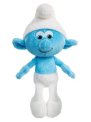 Smurfs The Lost Village Hefty Smurf 20cm Bean Bag Plush