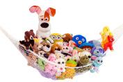 Wicked Gizmos ® Extra Large Hammock For Soft Toy Teddy Keep Baby/Children's Bedroom Tidy Mesh Storage Ideal For Nursery Play Corner Jumbo Hammock