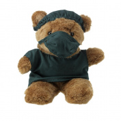 23cm Brown Plush Teddy Bear - Soft Cute Toy Gift