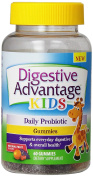 Digestive Advantage Kids Daily Probiotic Gummies Dietary Supplement, 60 count, 60 Count