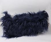 Bysn Baby Newborn Soft Faux Fur Photography Photo Faux Wool Basket Prop Stuffer Blanket