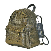 BORDERLINE - 100% Made in Italy - Smal Leather Backpack - CHIARA