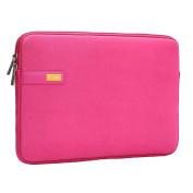 Laptop Sleeve Bag - Fabric Waterpoof Zipper Bags for iPad Pro Tablet Laptops Macbook Notebook Computers