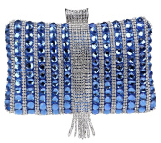 Santimon Clutch For Women Exquisite Rhinestone Crystal Evening Party Bag Tassels Purse