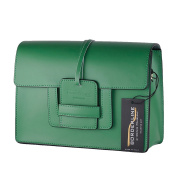 BORDERLINE - 100% Made in Italy - Woman's rigid bag in Genuine Leather - FEDERICA