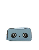 ANYA HINDMARCH WOMEN'S 940122 LIGHT BLUE FABRIC CLUTCH