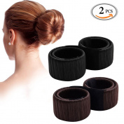 MLMSY Women Hair Styling Disc Beautiful Donut Bun Maker Former Foam French Twist Hairstyle Clip DIY Tool Doughnuts Hair Bun Make