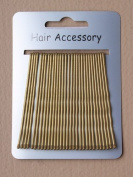 extra long golden blonde hair grips 60 new 2 cards