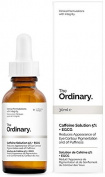 The Ordinary. Caffeine solution5% + EGCG. Serum antibolsas