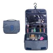 CoCogo Portable bag waterproof Wash bag cosmetic bag Hanging holiday travel toiletry bag multi-function