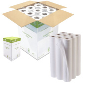 Ideal 365 Premium White 50cm Couch Roll Hygiene Roll - 40 Metres