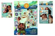 Moana Sticker Pad, Sticker Fun & Play Pack set