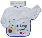 Baby Bibs with Sleeves 6-24 months Ideal for weaning 10 Styles...