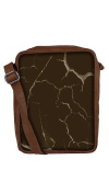 Snoogg Wall Crack Sling Bags Crossbody Backpack Chest Day Pack Travel Bag Book Bag For Men & Women