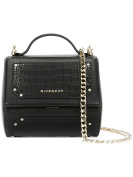 GIVENCHY WOMEN'S BB05264529001 BLACK LEATHER SHOULDER BAG