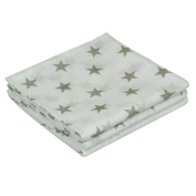 Asmi Muslin Cloths Pack of 3 Stars Design