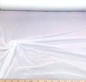 Discount Fabric Choose Your Colour nylon Tricot 15 denier Lustre Sheer White