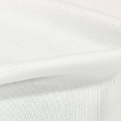 USA Made Premium Quality Pique Knit by the Yard - White - 1 Yard