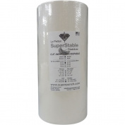 Cut away 60ml White 38cm x 100 yards roll. SuperStable Embroidery stabiliser