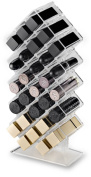 byAlegory Acrylic Honeycomb Lipstick Makeup Organiser 28 Spaces | Designed To Stand & Lay Flat